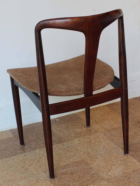 Six Johannes Andersen Rosewood Dining Chairs 5