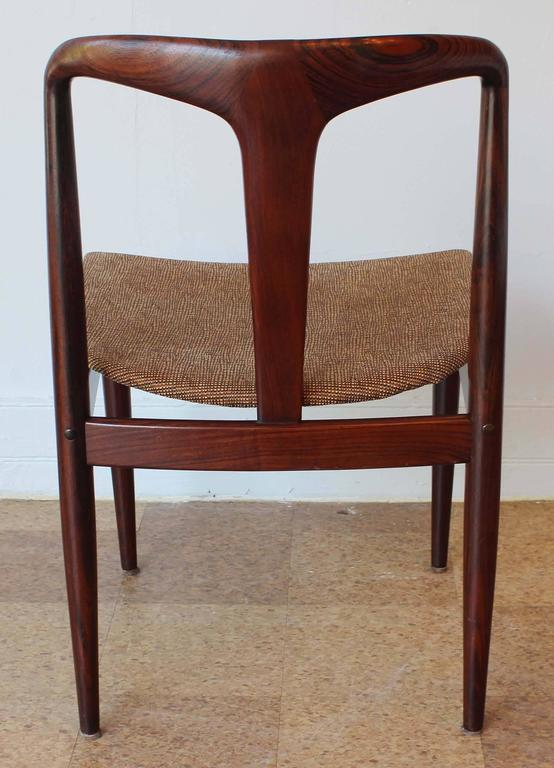 Six Johannes Andersen Rosewood Dining Chairs 6