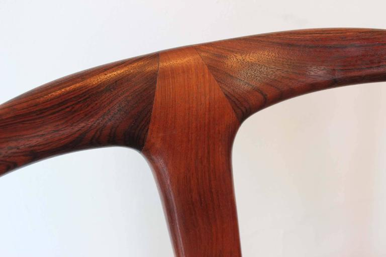 Six Johannes Andersen Rosewood Dining Chairs 7