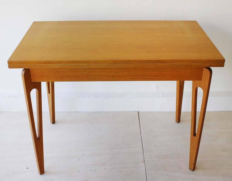 Mid-Century Modern American Extending Table For Sale