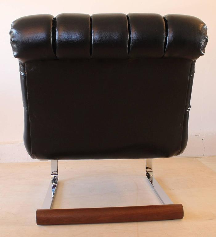 Milo Baughman Slipper Chair 6