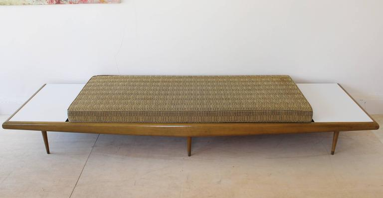 American Chevron Daybed Sofa For Sale