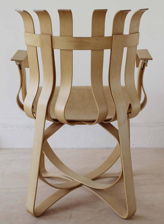 Frank Gehry Hat Trick Chair For Sale At 1stdibs