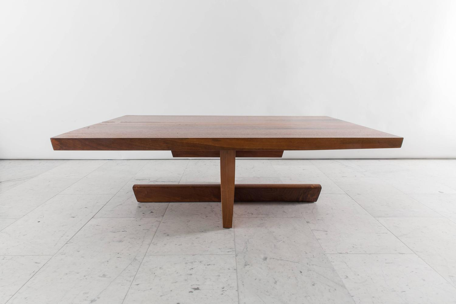 George nakashima large minguren low table usa 1974 at for Large low coffee table