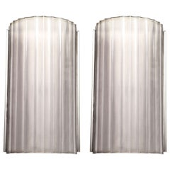 Marius Ernest Sabino Pair of Art Deco Wall Sconces