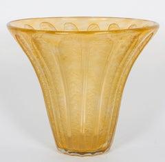 French Art Deco Vase by Daum Nancy