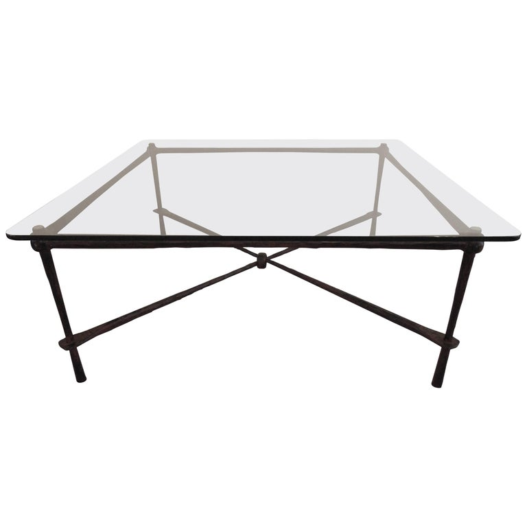 Wrought Iron Coffee Table By Jagr Design Made In The Usa