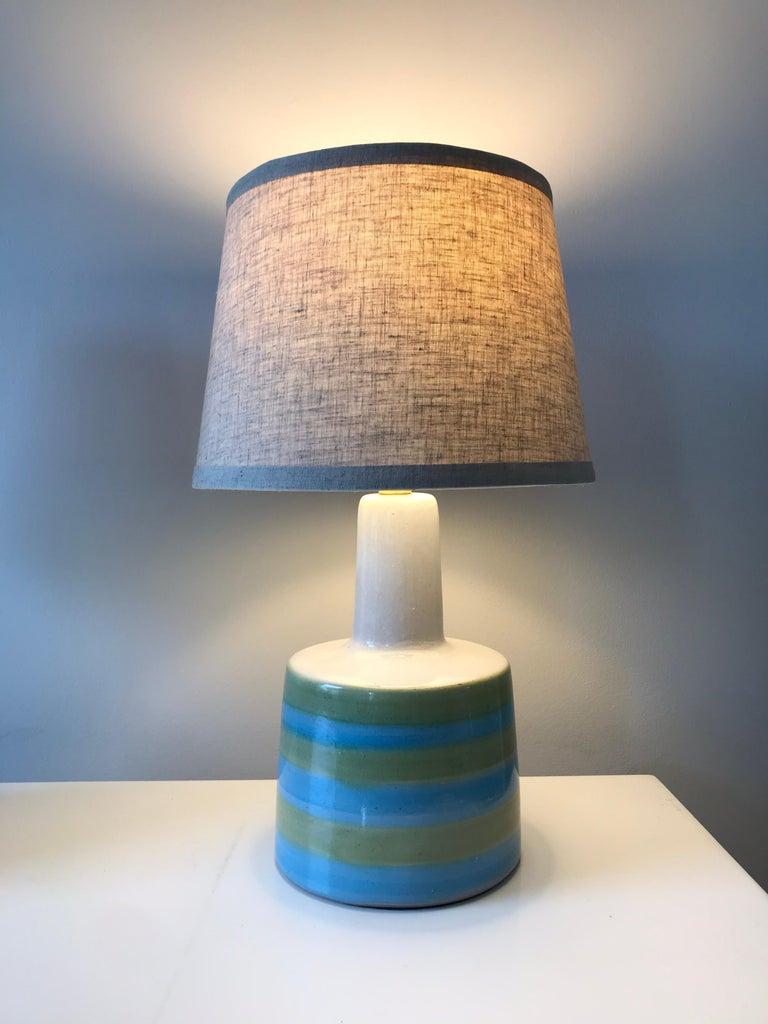 American Jane and Gordon Martz for Marshall Studios Ceramic Table Lamps- Pair