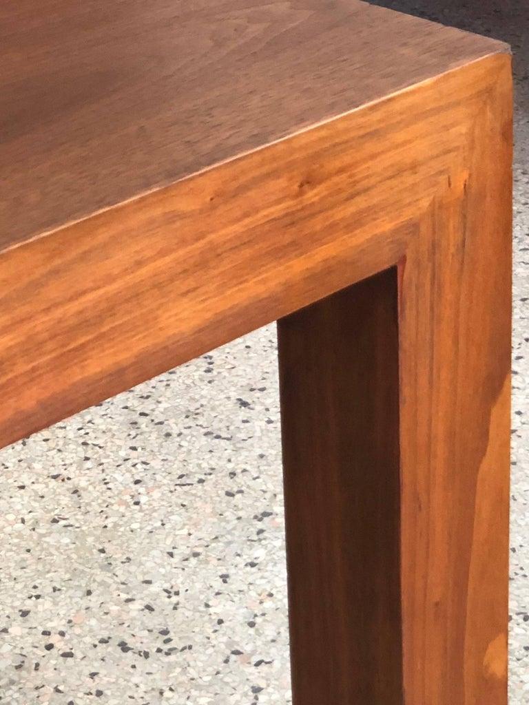 Vladimir Kagan Parsons Table in Walnut For Sale 2