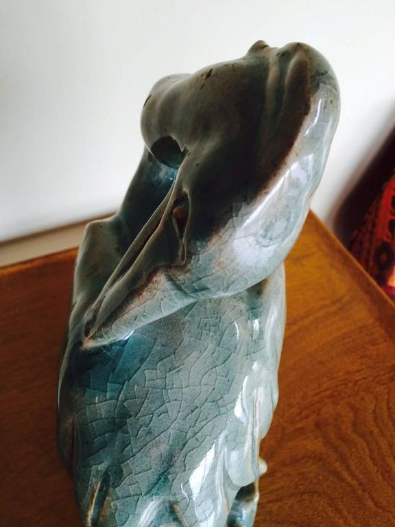 Royal Copenhagen Heron Sculpture For Sale 1
