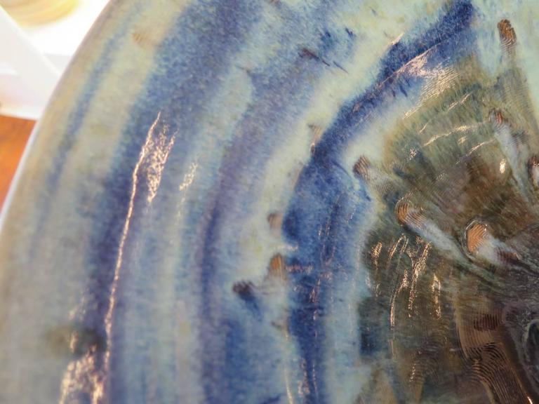 Charlie Parker Blue Ceramic Bowl 2