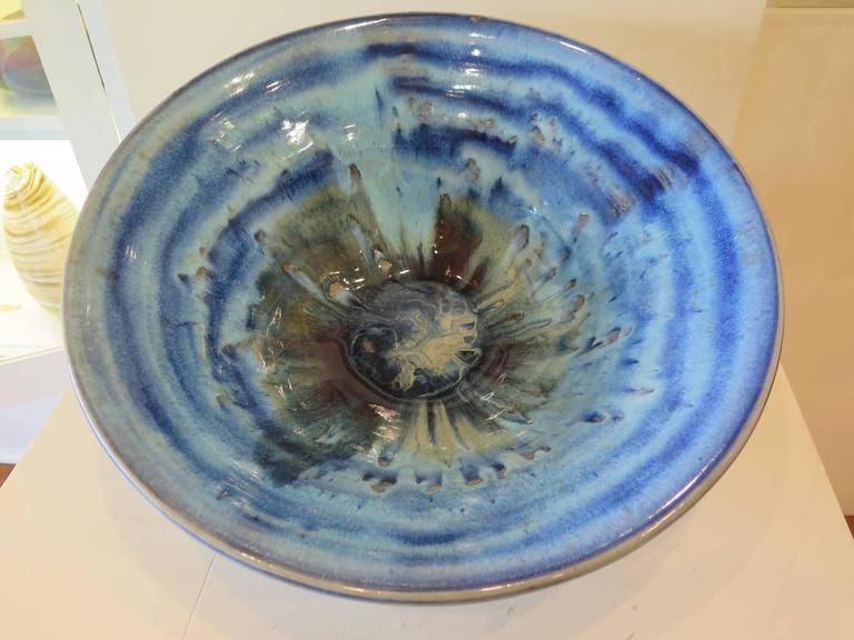Charlie Parker Blue Ceramic Bowl 5