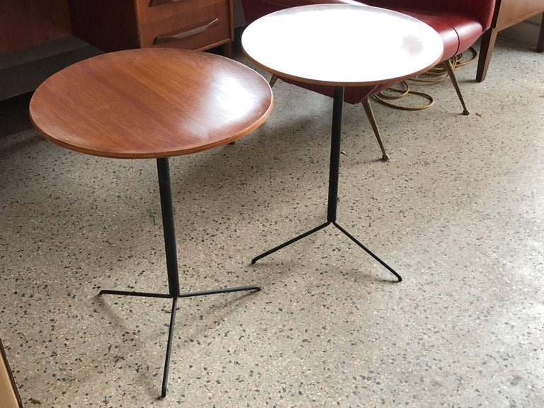 Italian Osvaldo Borsani for Tecno Occasional Tables For Sale