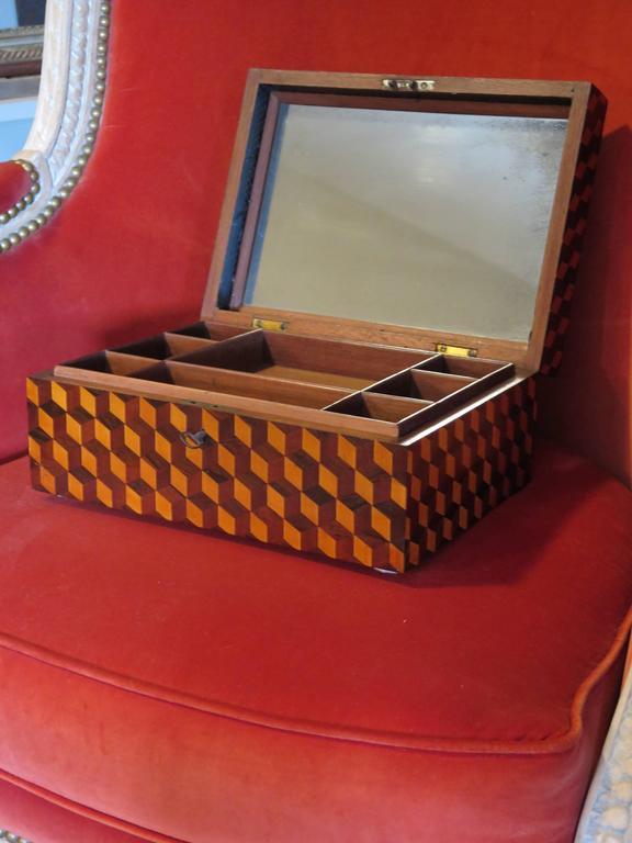 English Regency Jewelry Box 5