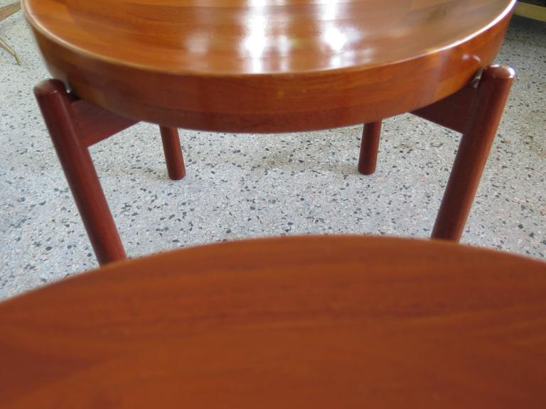 Pair of Danish Tray Tables by Jens Quistgaard 2