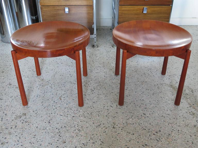Pair of Danish Tray Tables by Jens Quistgaard 5