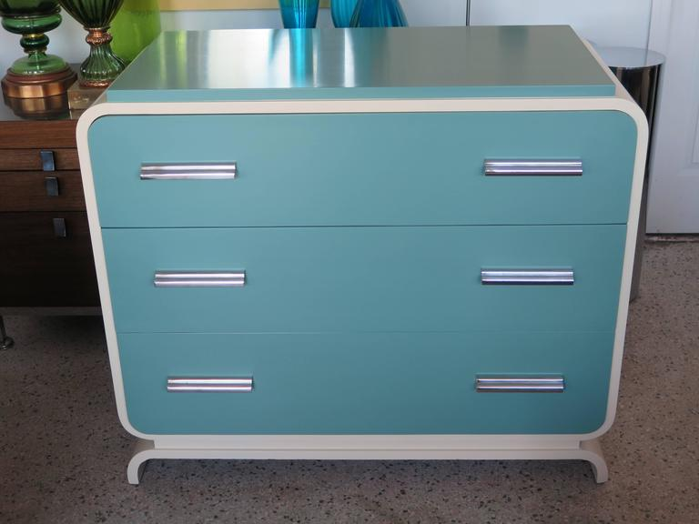 Modern Donald Deskey Chest for Valentine Seaver Co For Sale