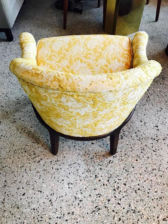 Pair of Elegant Tub Chairs by Henredon 4