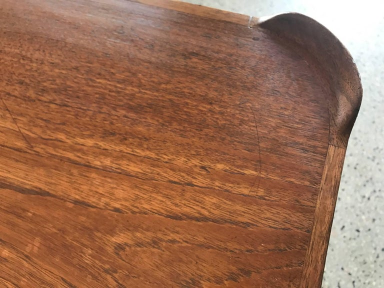 Teak Finn Juhl for Baker Card Table For Sale