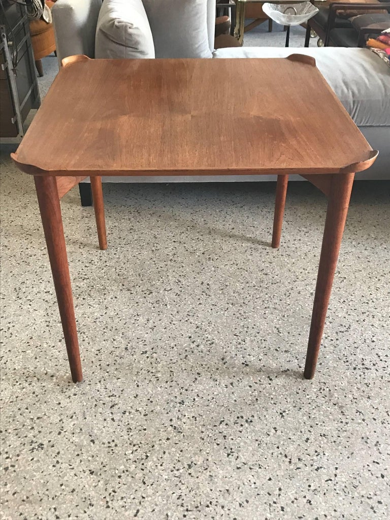Finn Juhl for Baker Card Table For Sale 1