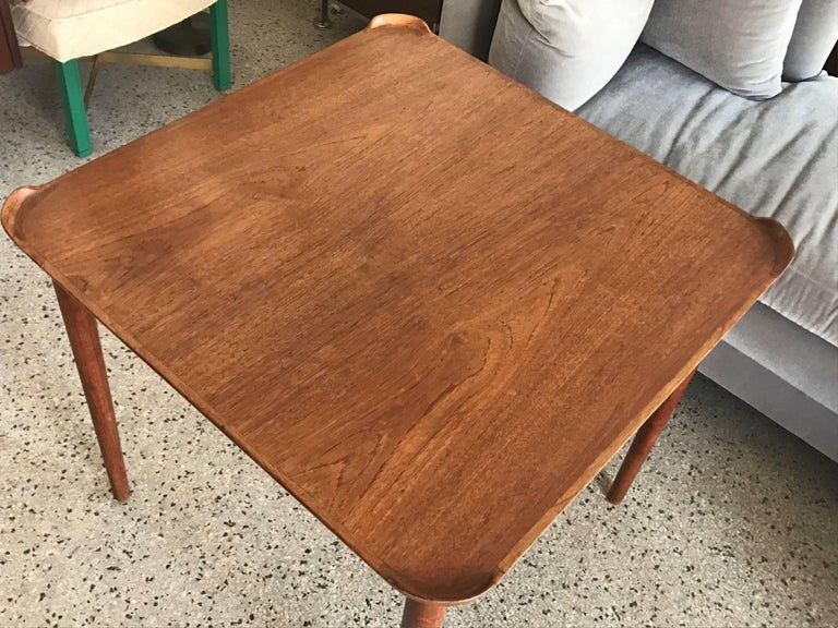 Finn Juhl for Baker Card Table For Sale 3