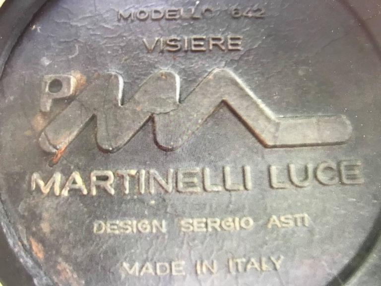 Sergio Asti for Martinelli Luce Table Lamp In Good Condition For Sale In St.Petersburg, FL