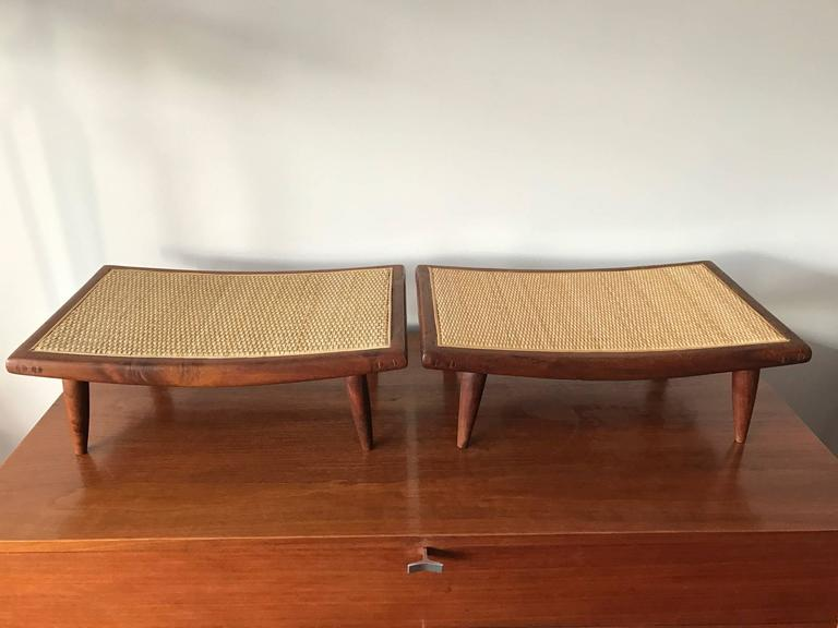 Pair of Unusual Foot Stools 4