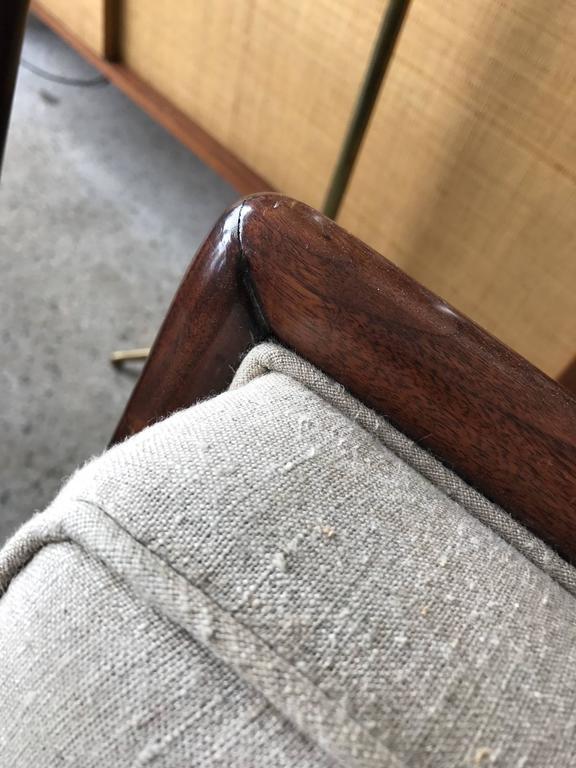 Pair of T.H. Robsjohn-Gibbings Slipper Chairs for Widdicomb 4