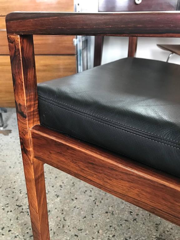 Pair of Fredrik Kayser Rosewood Chairs 4