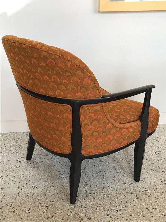 Pair of Classic Dunbar Janus Armchairs in Larsen Fabric For Sale 1