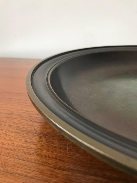 Large Just Andersen Patinated Bronze Charger 4