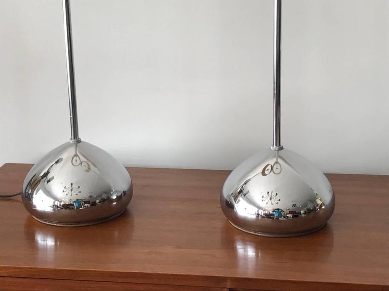 American Pair of Unusual George Kovacs Floor Lamps For Sale