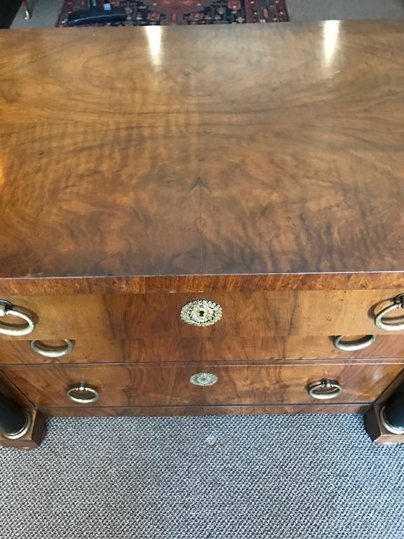 Pair of Elegant Empire Style Chests by Baker 4