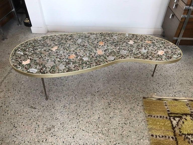 Unusual Tile Biomorphic Coffee Table 2