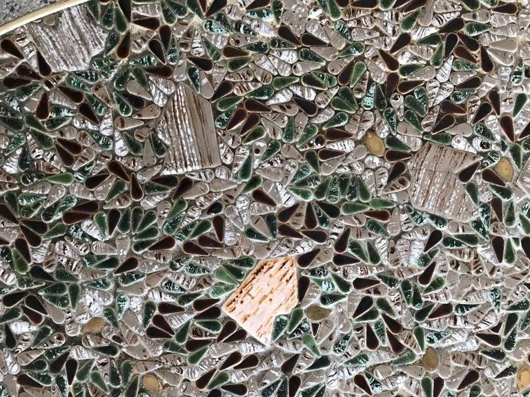 Unusual Tile Biomorphic Coffee Table 3