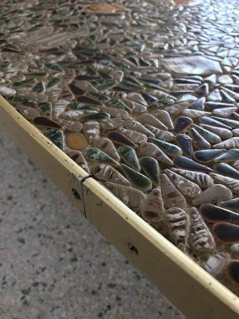 Unusual Tile Biomorphic Coffee Table 4