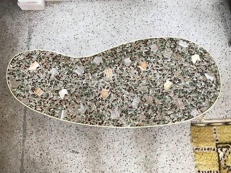 Unusual Tile Biomorphic Coffee Table 5