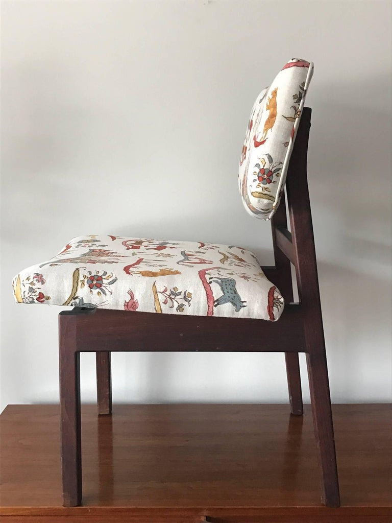 American Jens Risom Occasional Chair For Sale