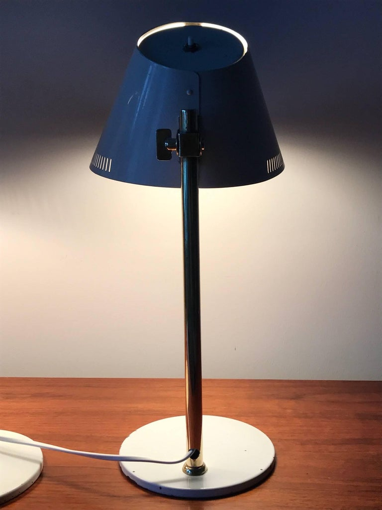 Pair of Table Lamps by Paavo Tynell Model 9227 For Sale 2