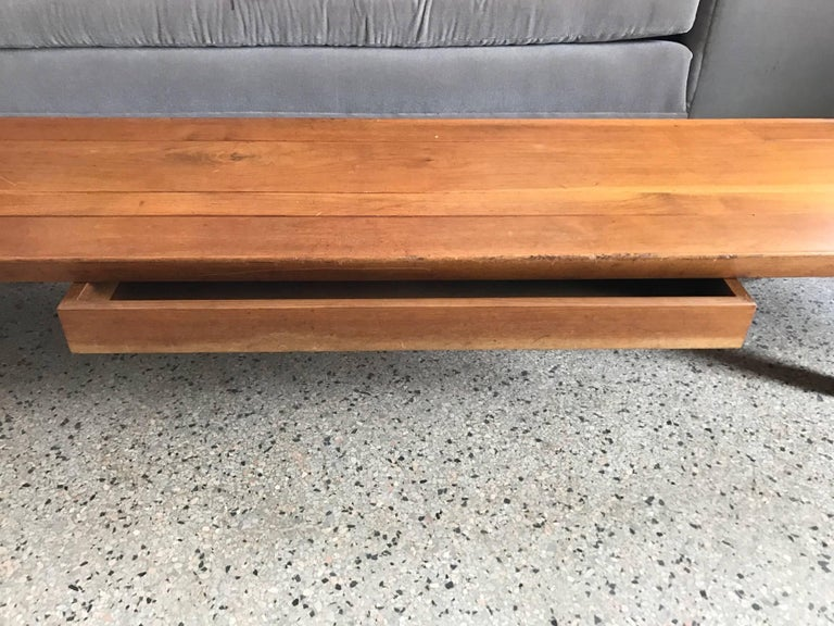 "Edward Wormley for Dunbar ""Long John"" Bench In Good Condition For Sale In St.Petersburg, FL"