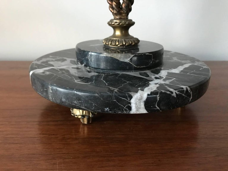 Hollywood Regency Elegant Italian Umbrella Stand For Sale