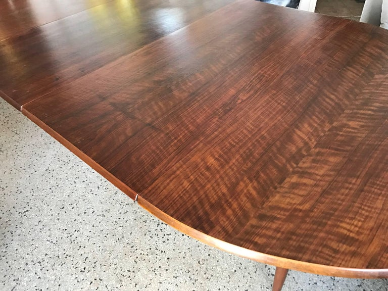 Mid-20th Century Kurt Ostervig Dining Table with Two Leaves For Sale