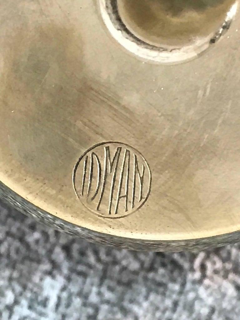 Mauri Almari Brass Sconces for Idman, Finland, 1950s 4