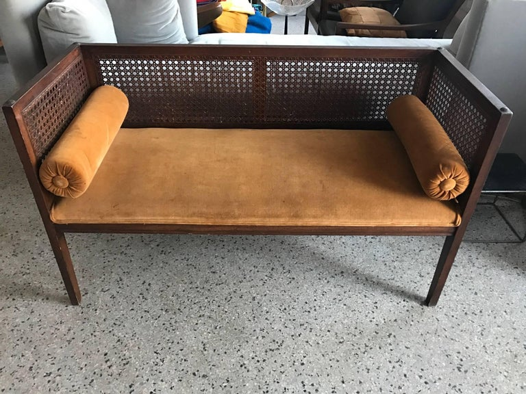 American Elegant Entry Bench Banquette For Sale
