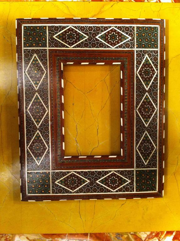 Anglo-Indian Inlaid Frame For Sale 1