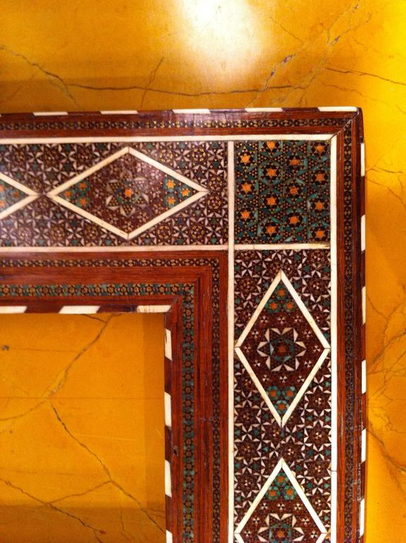 Anglo-Indian Inlaid Frame In Excellent Condition For Sale In Stamford, CT