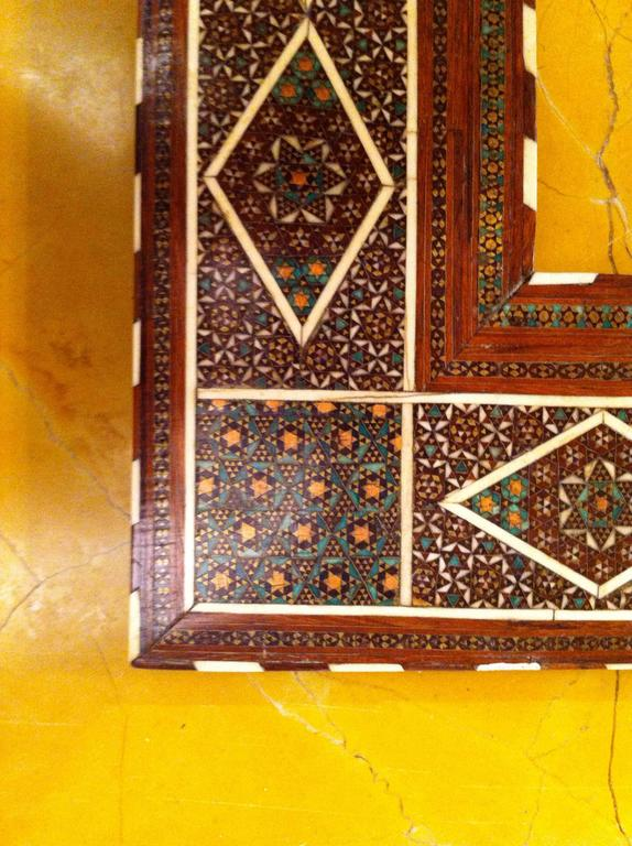 Anglo-Indian Inlaid Frame For Sale 4