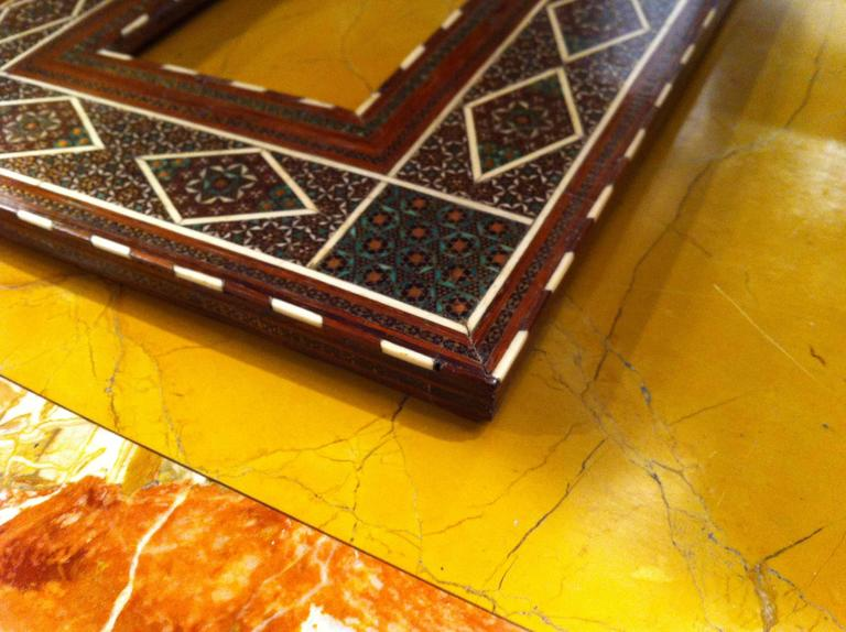 Anglo-Indian Inlaid Frame For Sale 2
