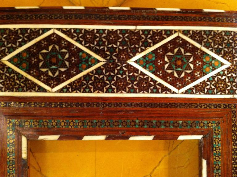 Anglo-Indian Inlaid Frame For Sale 3