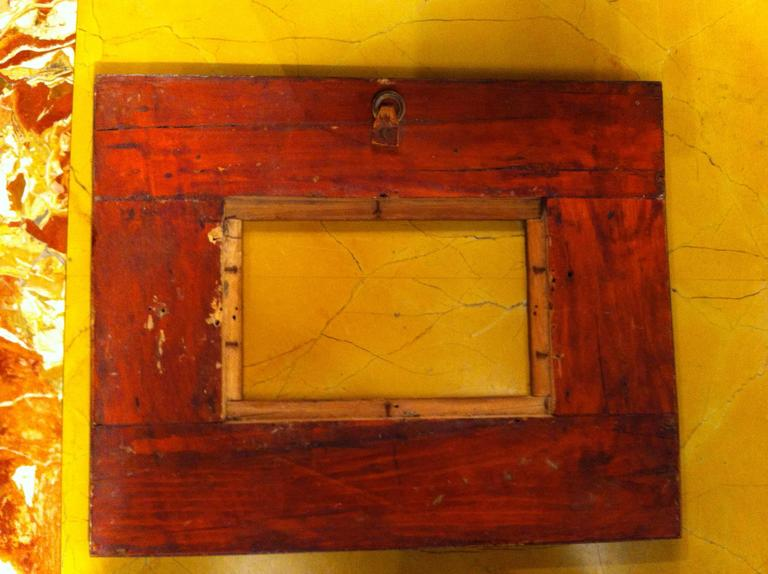 Anglo-Indian Inlaid Frame For Sale 6